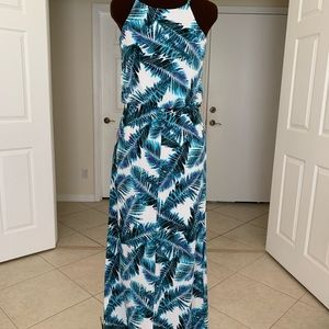 Summer Palm Leaves Maxi LIKE NEW!